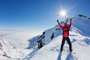 Vokabeln lernen ist wie Bergsteigen