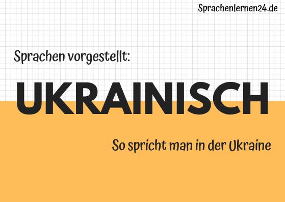 Sprachen vorgestellt Ukrainisch