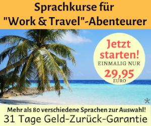Sprachurs-Vorbereitung auf deine Work Travel Reise
