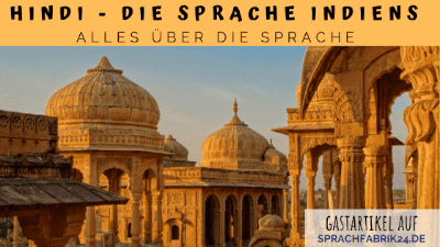 Hindi - Die Sprache Indiens