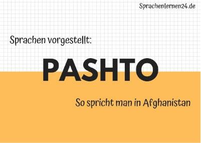 Sprachen vorgestellt Pashto